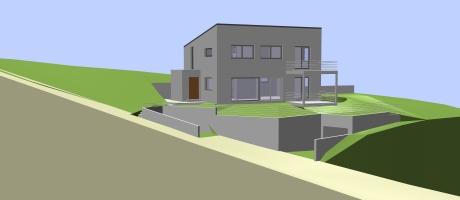 Huis in 3D - Haus in 3D